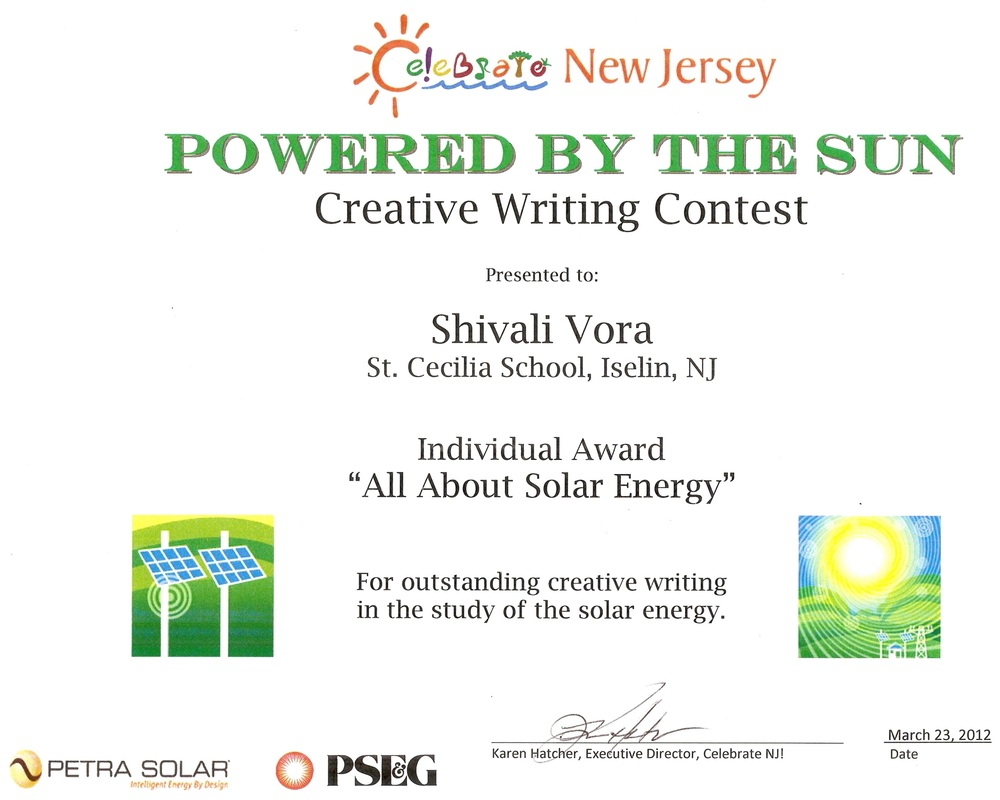 solar energy shivali vora s writings essay all about solar energy author shivali vora grade ii teacher miss earp school st